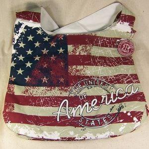 Robin Ruth United States of America Tote Bag Hobo